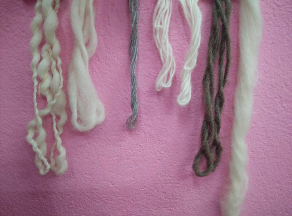 Different Thickiness of Wool yarn - Rochak Handknit
