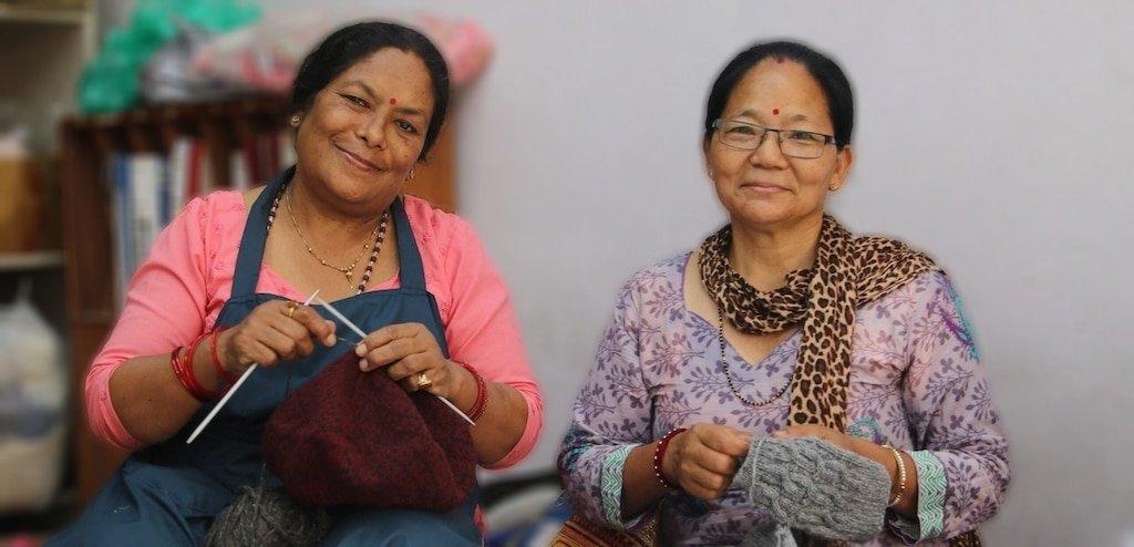 Happy Knitting faces of Rochak Handknit